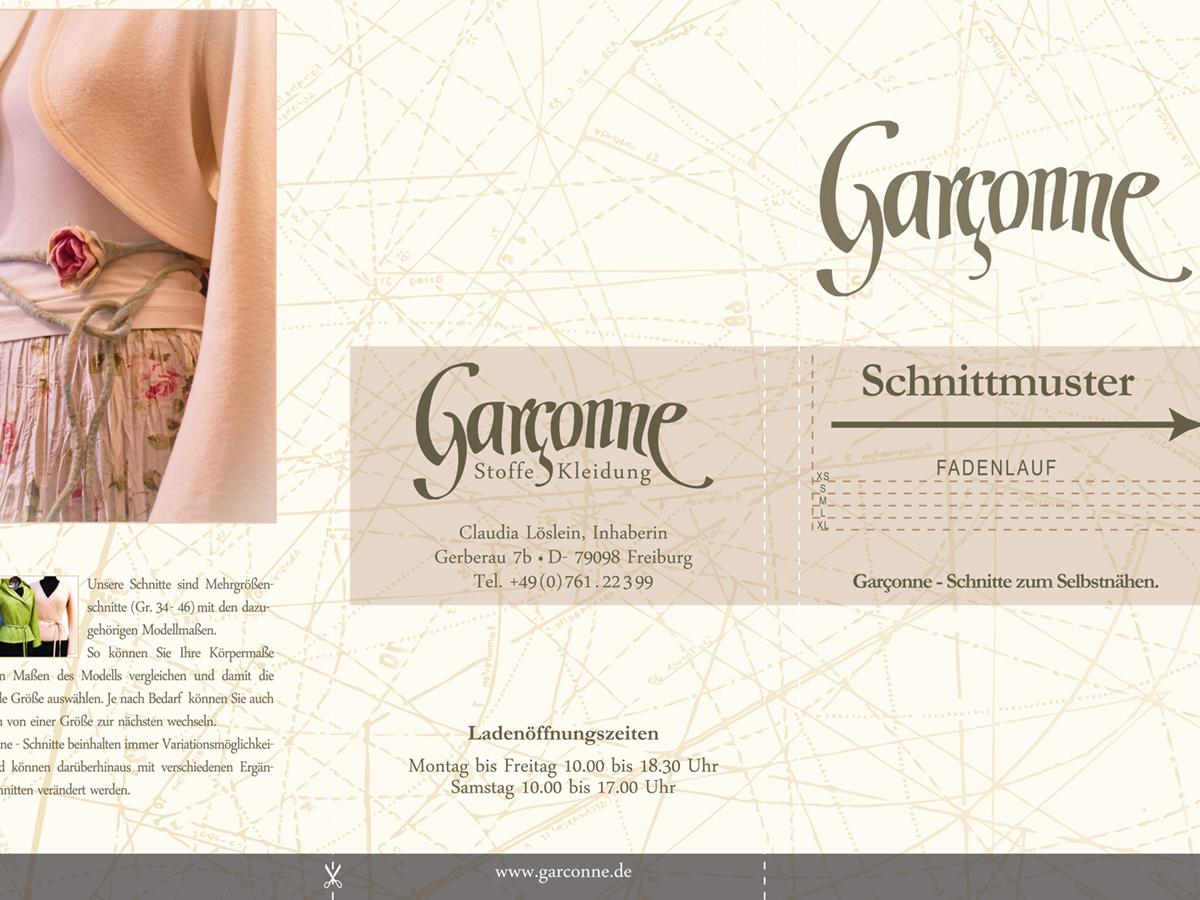 Grafikdesign | Flyer-Design | Garçonne in Freiburg im Breisgau