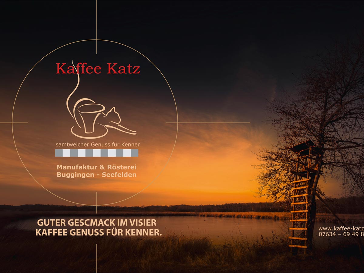 Grafikdesign - Kaffee Katz in Buggingen
