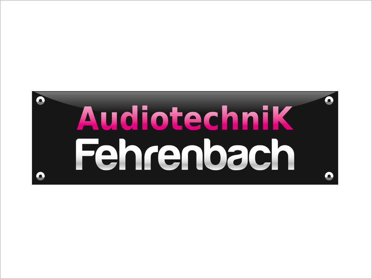 Logo-Design | Logo-Entwicklung | Logo-Redesign - Fehrenbach - Audiotechnik in Freiburg | © debeuf grafikdesign