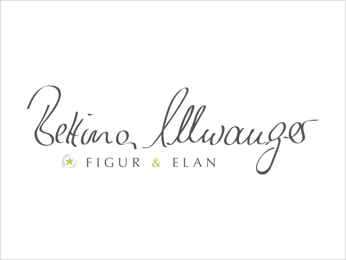 Logo-Design | Logo-Entwicklung | 'Figur & Elan' - Bettina Ellwanger | © debeuf grafikdesign