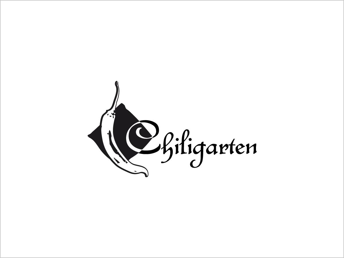 Logo-Design | Logo-Entwicklung | Logo Chiligarten | © debeuf grafikdesign