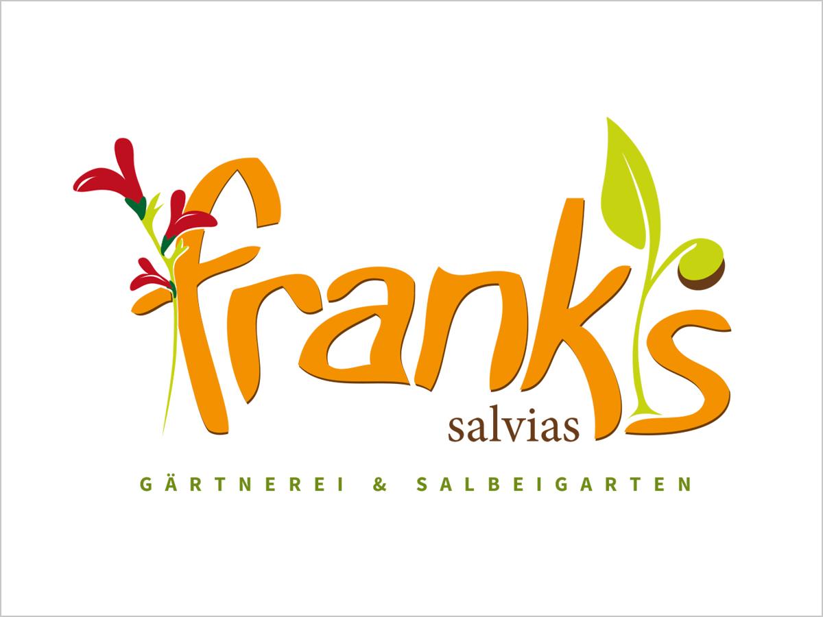 Logodesign - Freiburg Umkirch | Logo-Entwicklung | Franks-Salvias | © debeuf grafikdesign