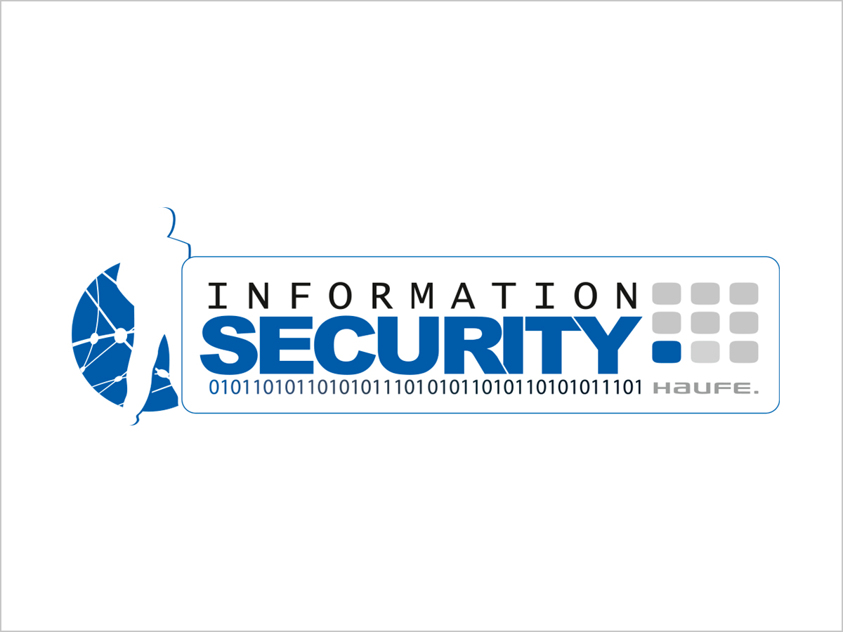 Logo-Design | Logo-Entwicklung | Haufe-Information-Security | © debeuf grafikdesign