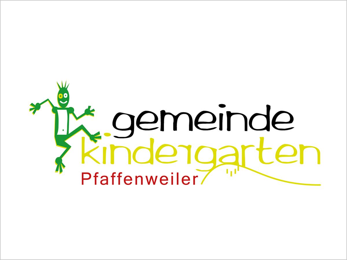 Das Logo vom Gemeinde Kindergarten in Pfaffenweiler bei Freiburg im Breisgau