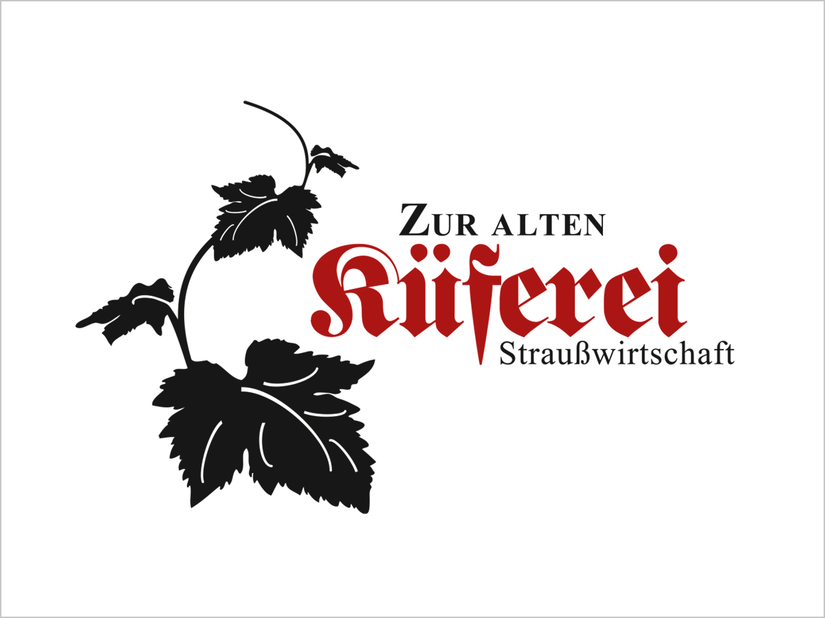 Logodesign | Logo-Redesign | Zur Alten Küferei in Pfaffenweiler | © debeuf grafikdesign