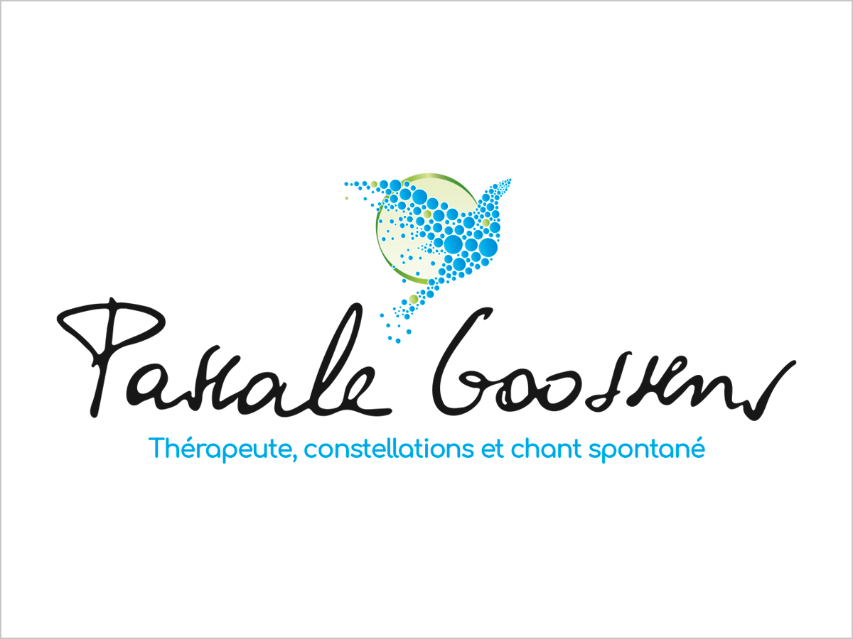 Logo-Entwicklung für Pascale Goossens - Constellation et chant - France