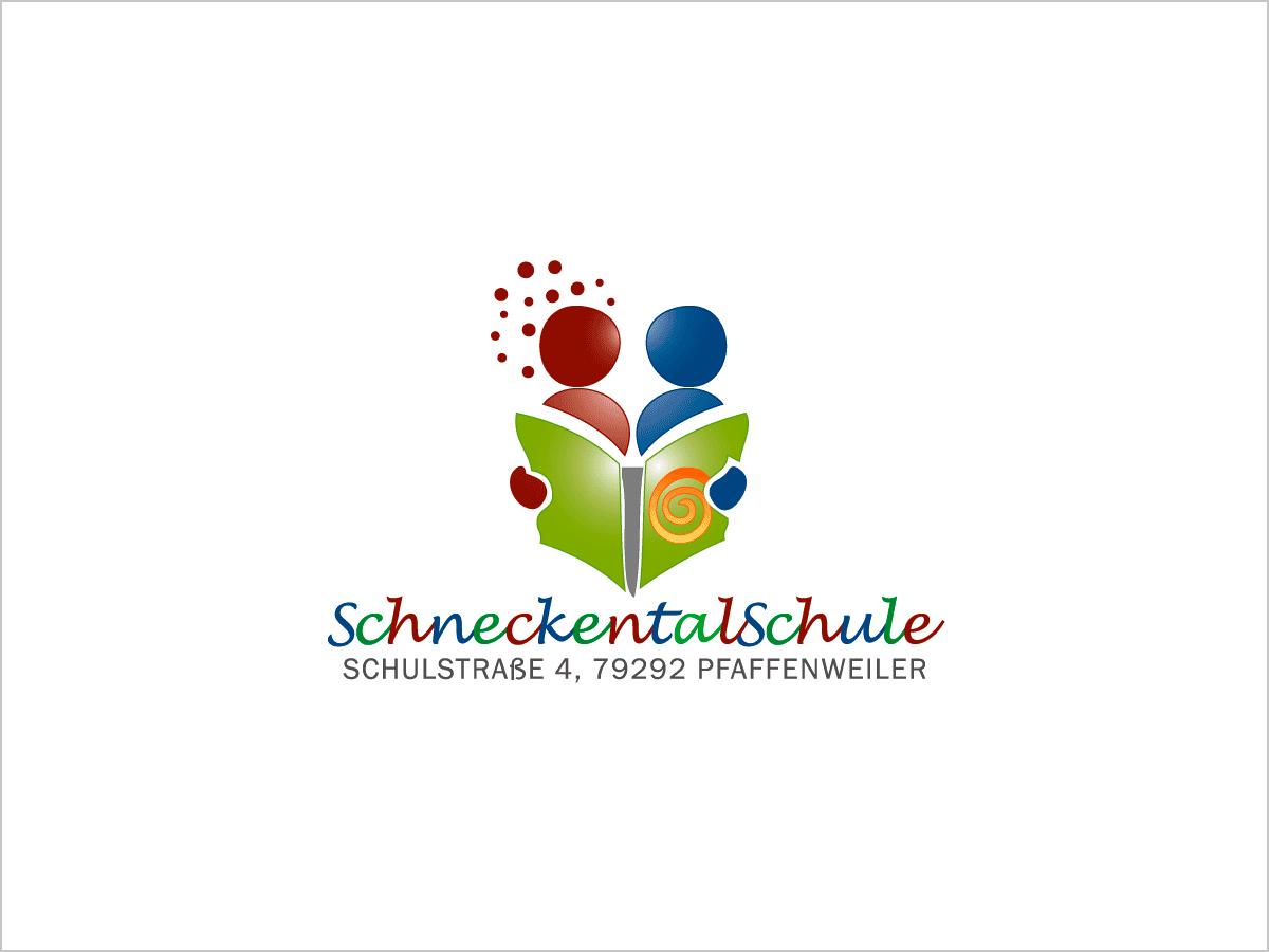Logo-Design - Logo-Entwicklung - Schneckentalschule in Pfaffenweiler | © debeuf grafikdesign