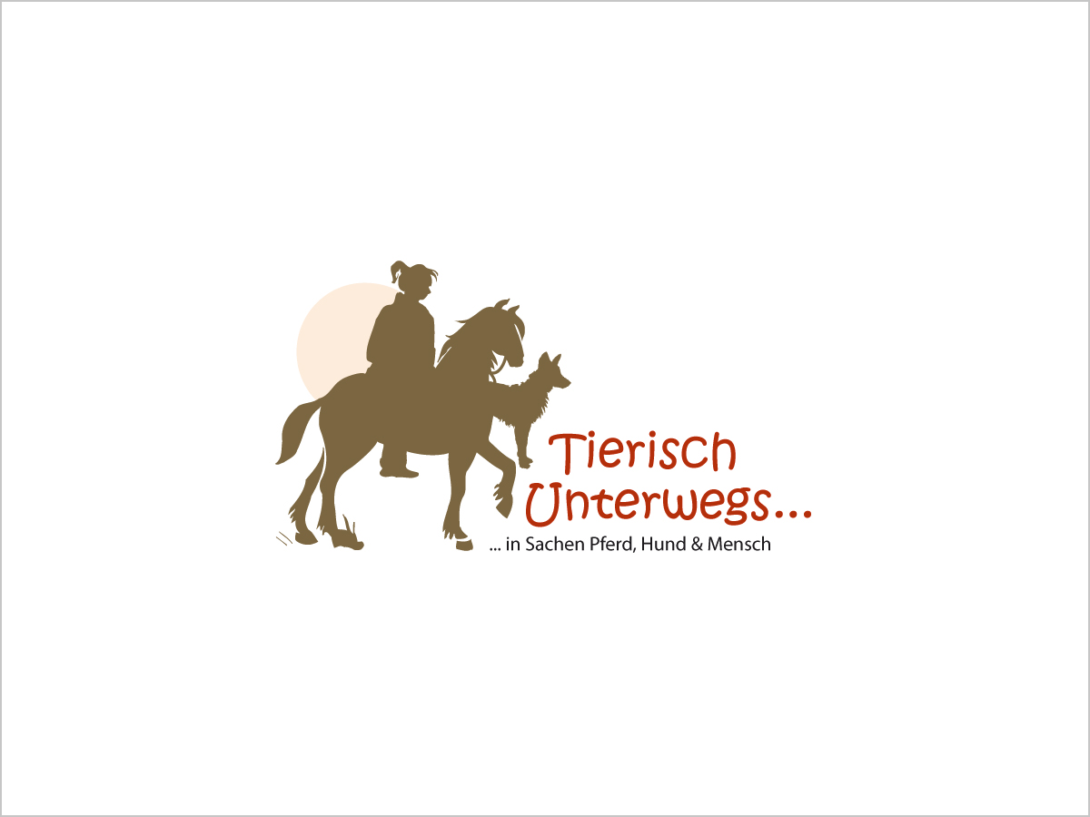 Logo-Design | Logo | Tierisch-Unterwegs | © debeuf grafikdesign