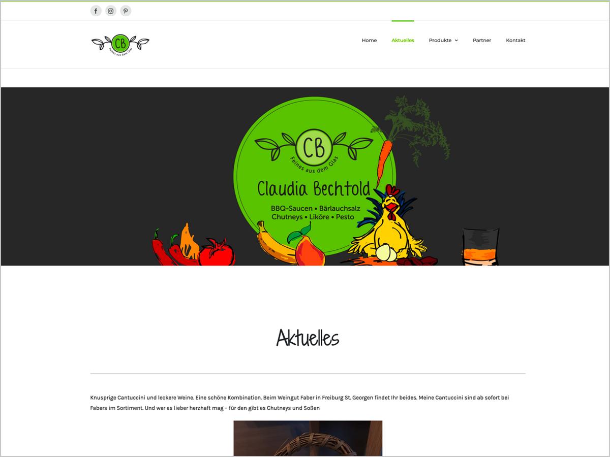 Claudia Bechtold - Webdesign - Freiburg im Breisgau