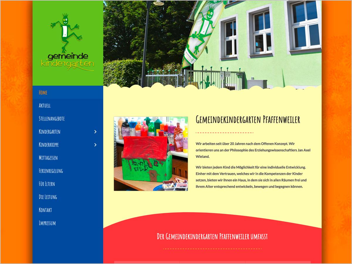 Gemeindekindergarten in Pfaffenweiler bei Freiburg