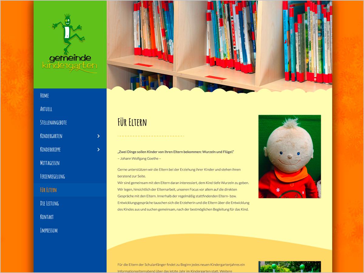Gemeinde Kindergarten Pfaffenweiler - Für Eltern