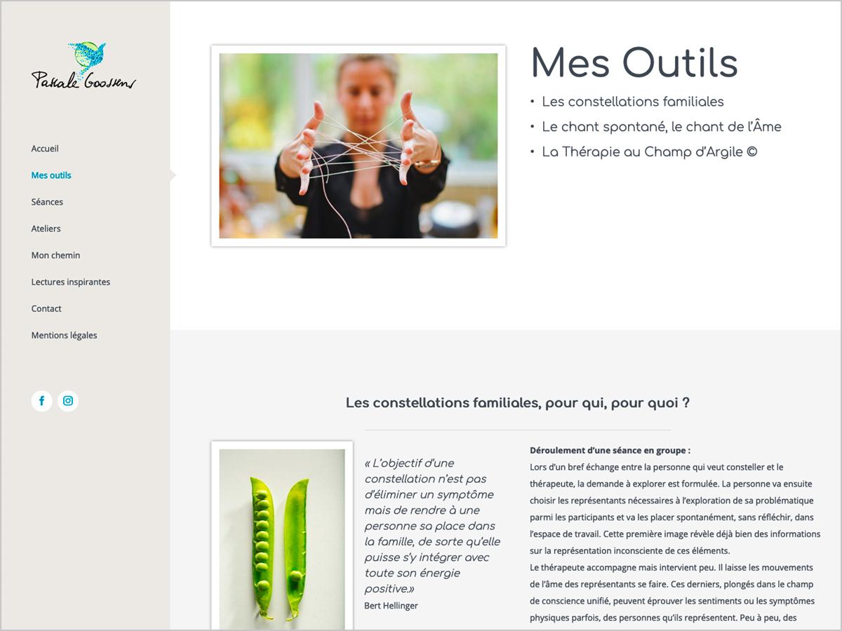 Webdesign | Pascal Goossens - La Bastide - Frankreich