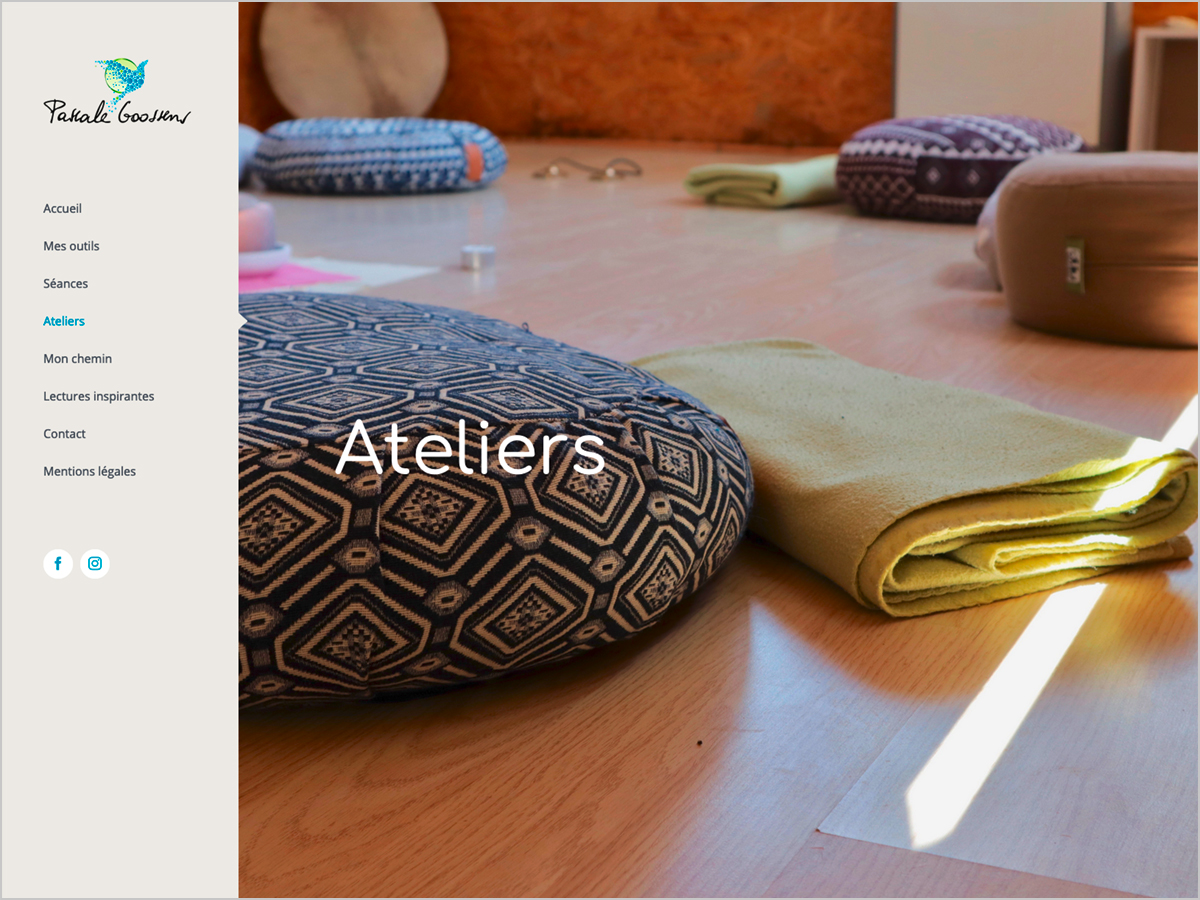Webdesign | Pascal Goossens - La Bastide - Consultations